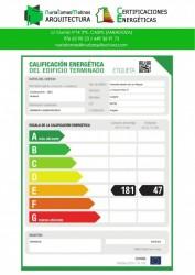 Calificación energética de vivienda en caspe